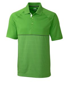 714934764-106 - Men's Cutter & Buck® DryTec Junction Stripe Hybrid Polo Shirt - thumbnail