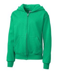 724497352-106 - Youth Clique® Fleece Full Zip Hoodie - thumbnail