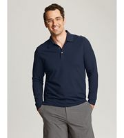 735260814-106 - Men's Cutter & Buck® Advantage Long-Sleeve Polo Shirt (Big & Tall) - thumbnail
