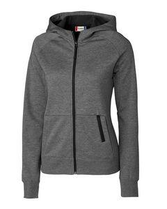 764203292-106 - Ladies' Clique® Lund Lady Fleece Zip Hoodie - thumbnail
