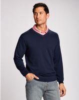 775260795-106 - Men's Cutter & Buck® Lakemont V-Neck Sweater (Big & Tall) - thumbnail