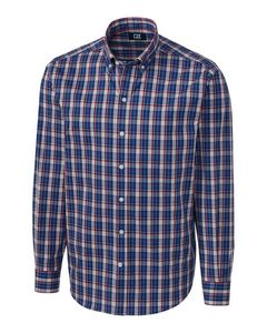 796361214-106 - L/S Performance Caleb Plaid Big & Tall - thumbnail