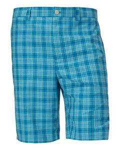 916145437-106 - McKinley Plaid Flat Front Short - thumbnail