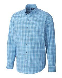 936129830-106 - Soar Fine Line Plaid Shirt - thumbnail