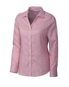 994203200-106 - Ladies' Cutter & Buck® Epic Easy Care Tattersall Dress Shirt - thumbnail