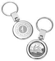 121586550-142 - State Quarter Keychain - thumbnail