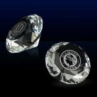 125414984-142 - Diamond Diamond Express Crystal Paperweight - thumbnail