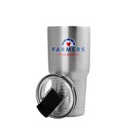 725466567-142 - 20 Oz. Stainless Silver Patriot Tumbler - thumbnail
