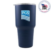 775953791-142 - 30 Oz. Navy Blue Patriot Tumbler - thumbnail