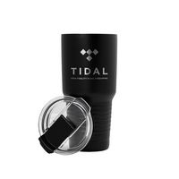 795885822-142 - 20 Oz. Black Patriot Tumbler - thumbnail
