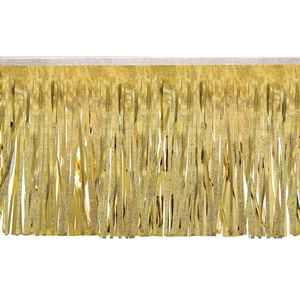 """136197752-108 - Victory Corps Embossed Gold & Metallic Gold Fringe (15"""") - thumbnail"""