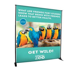 144021390-108 - 7.5' Deluxe Exhibitor Expanding Display Kit - thumbnail