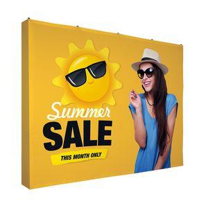 184021578-108 - 10' Straight Splash Floor Display Wrap Kit (Poly Knit) - thumbnail