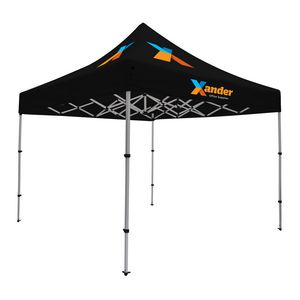185565880-108 - Compact 10' Tent Kit (Full-Color Imprint, 3 Locations) - thumbnail