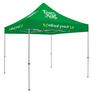 303728374-108 - Deluxe 10' Tent Kit (Full-Color Imprint, 8 Locations) - thumbnail
