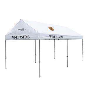 336185578-108 - 10' x 20' Gable Tent Kit (Full-Color Imprint, 4 Locations) - thumbnail