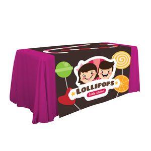 """336448819-108 - 57"""" LazerLine Table Runner Full-Color full-Bleed  - thumbnail"""