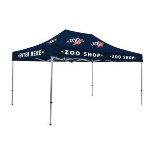 385530034-108 - 15' Premium Tent Kit (Imprinted, 12 Locations) - thumbnail