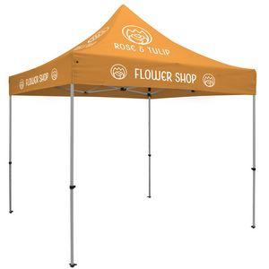393728705-108 - Premium Aluminum 10' Tent Kit (Imprinted, 6 Locations) - thumbnail