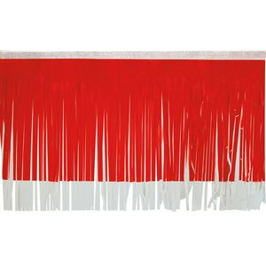 """536197654-108 - Victory Corps Standard Red & White Fringe (15"""") - thumbnail"""