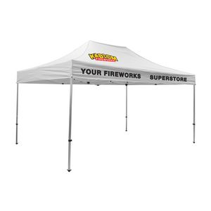 575009822-108 - Premium Aluminum 15' Tent Kit (Imprinted, 3 Locations) - thumbnail