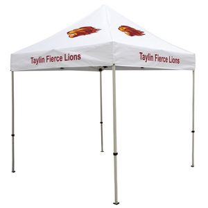584574193-108 - Deluxe 8' Tent Kit (Full-Color Imprint, 8 Locations) - thumbnail