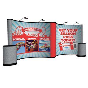 594022039-108 - 20' Gullwing Show 'N Rise Floor Kit (Mural, Fabric Ends) - thumbnail