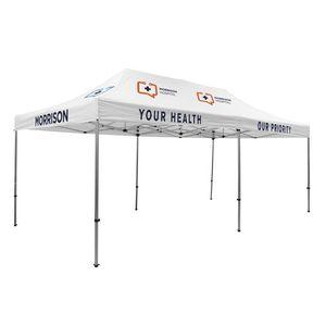 735009840-108 - 20' Premium Tent Kit (Imprinted, 8 Locations) - thumbnail