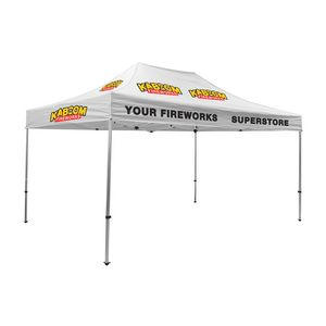 775009825-108 - Premium Aluminum 15' Tent Kit (Imprinted, 6 Locations) - thumbnail