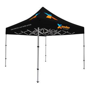 785565884-108 - Compact 10' Tent Kit (Full-Color Imprint, 6 Location) - thumbnail