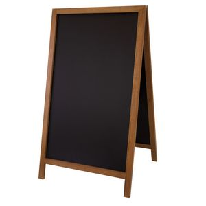 "795916007-108 - 46"" Deluxe Wood A-Frame Chalkboard Hardware - thumbnail"