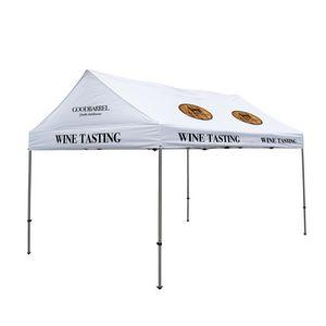 936185577-108 - 10' x 15' Gable Tent Kit (Full-Color Imprint, 10 Locations) - thumbnail
