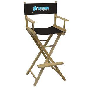 941588374-108 - Bar-Height Director's Chair (Full-Color Imprint) - thumbnail