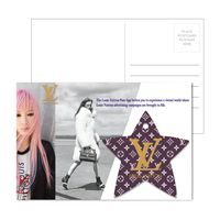 115956945-134 - Post Card With Full-Color Star Luggage Tag - thumbnail