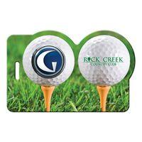 155886937-134 - Golf Balls Luggage Tag - thumbnail