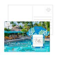 155956920-134 - Post Card With Full-Color Hawaiian Shirt Luggage Tag - thumbnail
