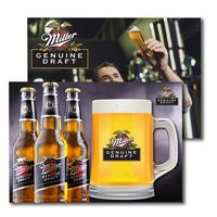 305956879-134 - Post Card with Full Color Beer Mug Coaster - thumbnail