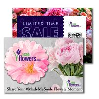 335956884-134 - Post Card with Full Color Flower Coaster - thumbnail