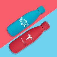 345566190-134 - 17 oz Matte Finish Stainless Steel Bottle - thumbnail
