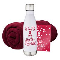 355482019-134 - Fleece Blanket & Tumbler Combo Set - thumbnail