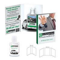 366056982-134 - Tek Booklet with Hand Sanitizer Gel - thumbnail