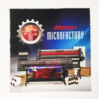 "375672035-134 - 6"" x 6"" Zig-Zag Edge Microfiber Cloth - thumbnail"
