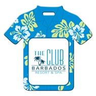 394047485-134 - Hawaiian Shirt Shaped Luggage Tag - thumbnail