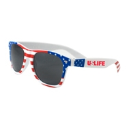 525066509-134 - USA Patriotic Miami Sunglasses - thumbnail