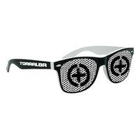 525931968-134 - Lenstek Two Tone Miami Sunglasses - thumbnail