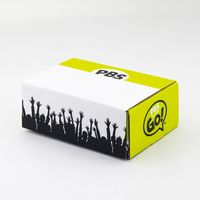 "594711570-134 - 9"" X 6"" X 3.5"" E-Flute Tuck Box Single Side - thumbnail"