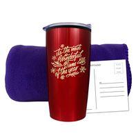 755482015-134 - Fleece Blanket & Tumbler Combo Set - thumbnail