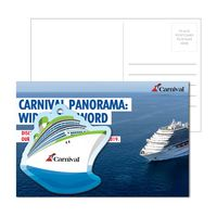 755956929-134 - Post Card With Full-Color Cruise Ship Luggage Tag - thumbnail