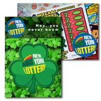 765956895-134 - Post Card with Full Color Shamrock Coaster - thumbnail