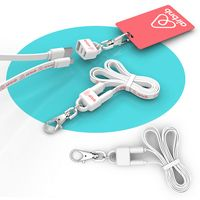 905690968-107 - Lanyard 2-in-1 Lanyard and Micro USB Charging Cable - thumbnail